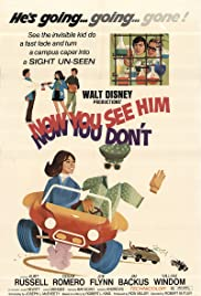 Now You See Him, Now You Don't (1972) Poster - Movie Forum, Cast, Reviews