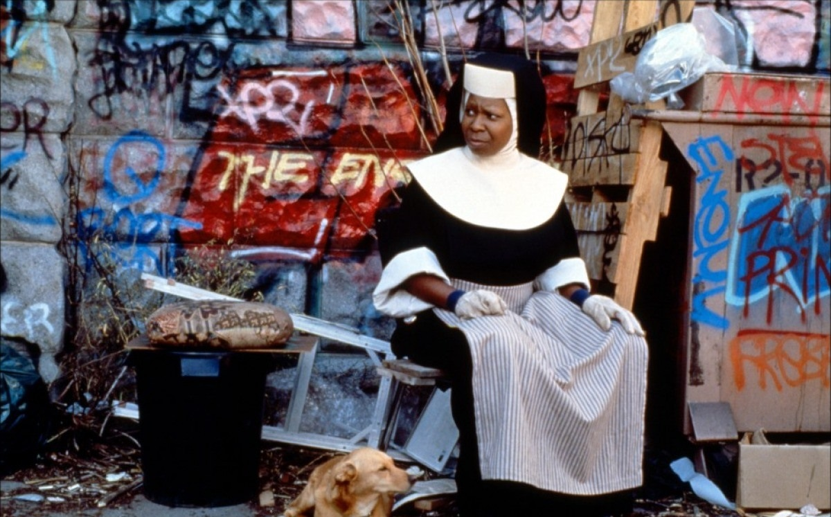 Whoopi Goldberg in Sister Act (1992)