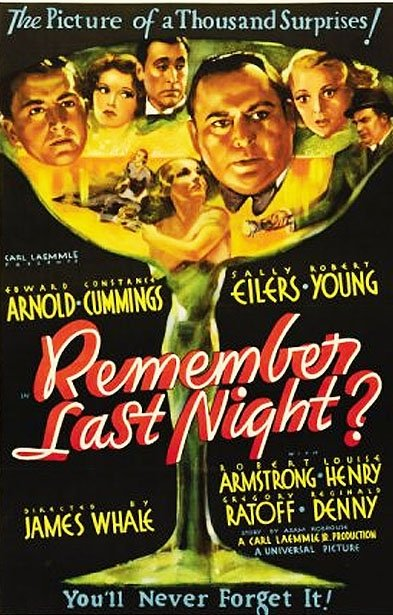 Remember Last Night? (1935) - IMDb