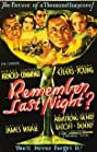 Remember Last Night? (1935) Poster