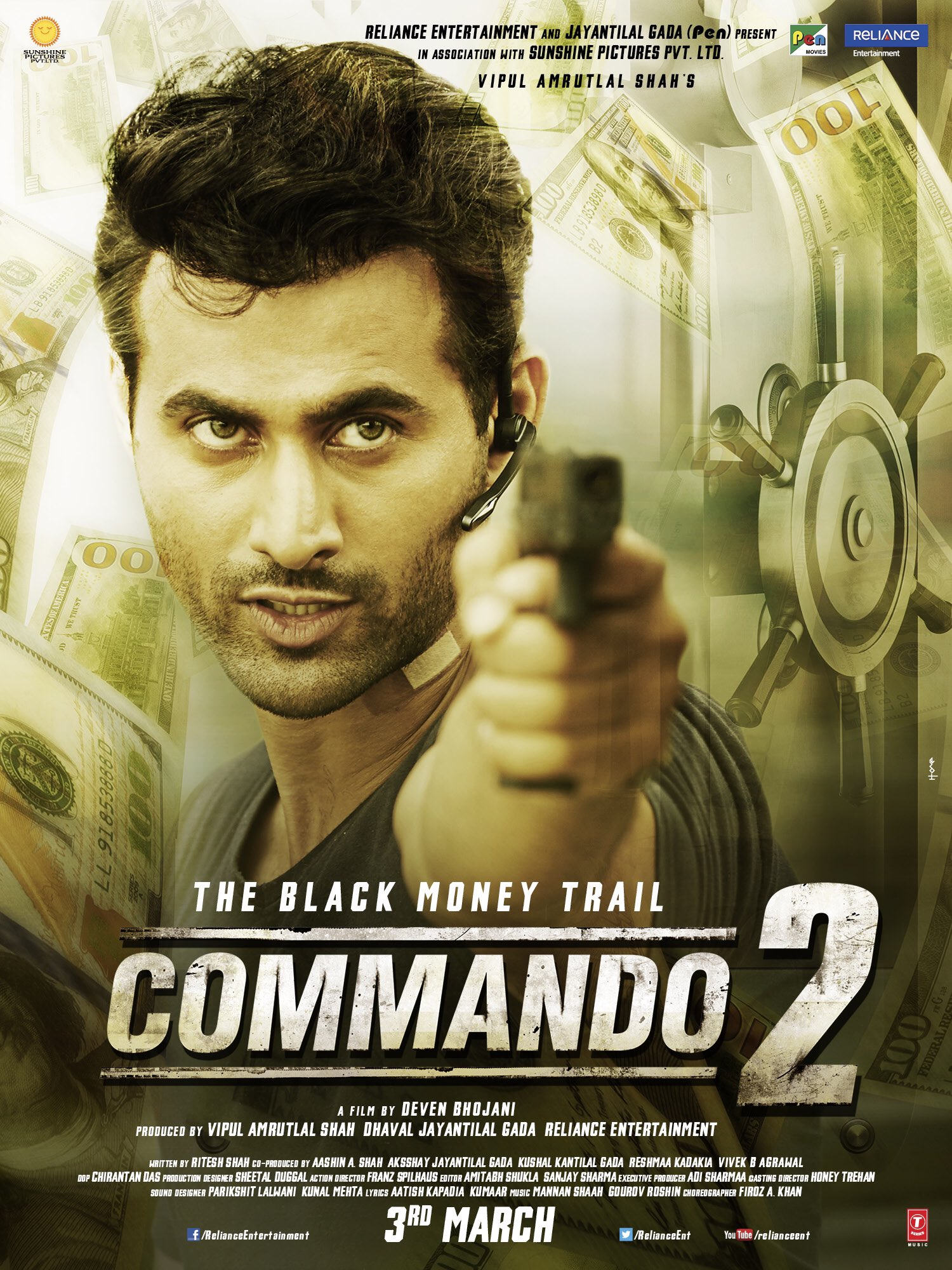 download commando film songs