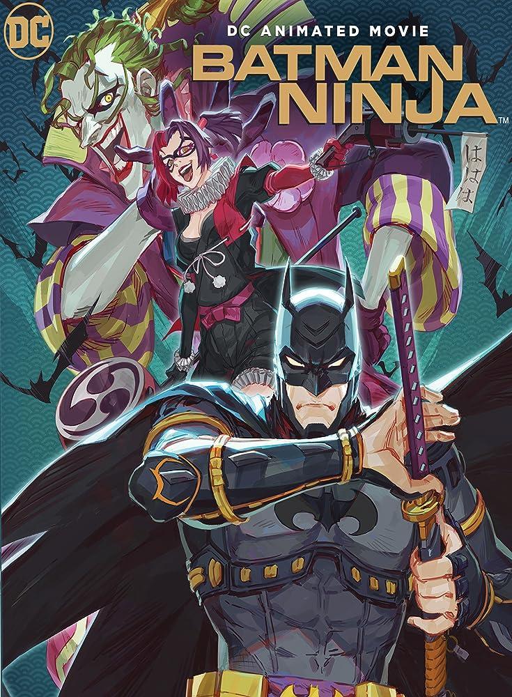 Wataru Takagi, Kôichi Yamadera, Hôchû Ôtsuka, Rie Kugimiya, and Ai Kakuma in Batman Ninja (2018)