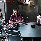 Joe Mantegna, Paget Brewster, and Kirsten Vangsness in Criminal Minds (2005)