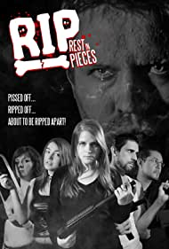 Kayla Elizabeth, Dave Parker, Allison Egan, and Kenzie Phillips in RIP: Rest in Pieces (2020)