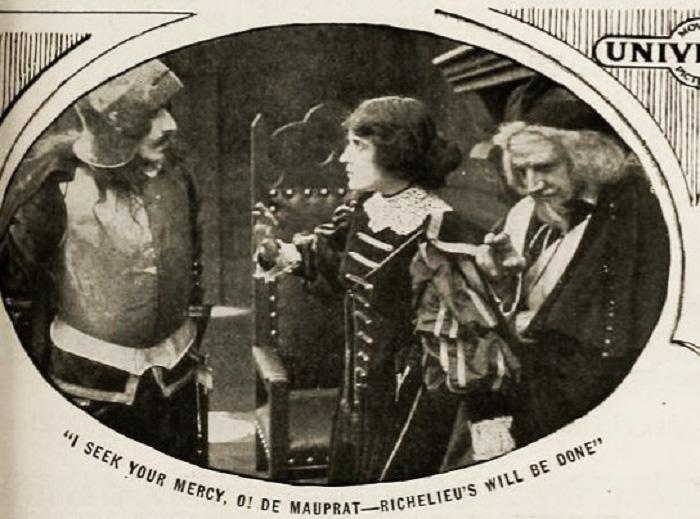 Pauline Bush, William C. Dowlan, and Murdock MacQuarrie in Richelieu (1914)