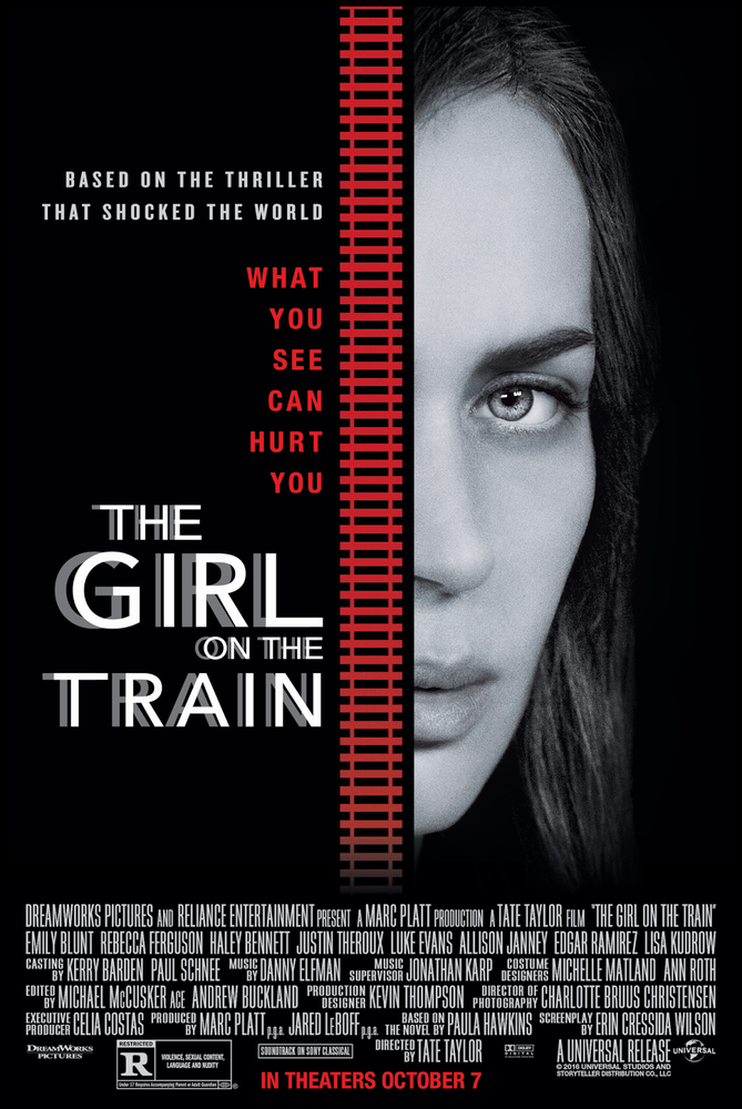 Mergina traukiny / The Girl on the Train (2016) Online