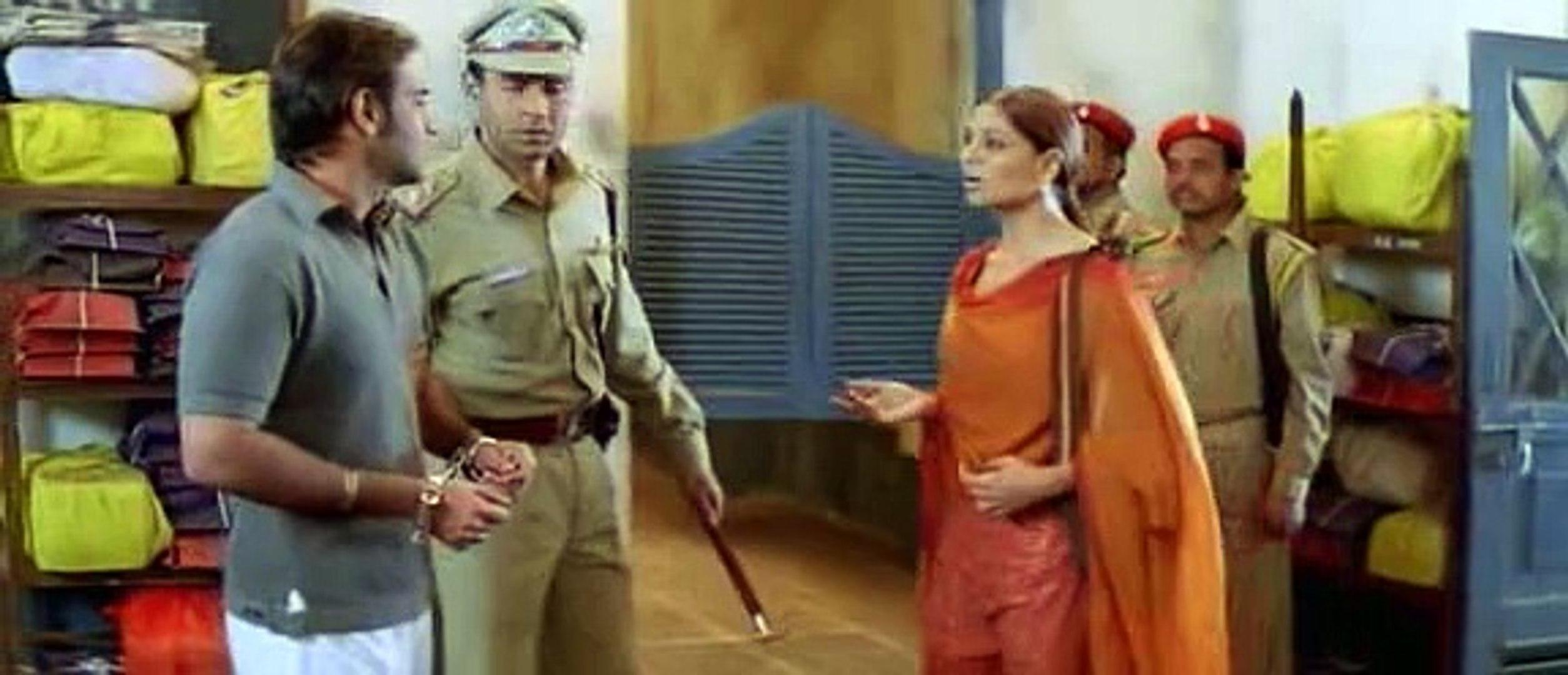 Bipasha Basu and Ajay Devgn in Apaharan (2005)