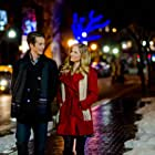 Ellen Hollman and Bobby Campo in Sharing Christmas (2017)