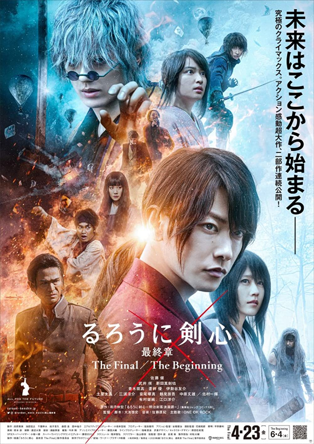 Rurouni Kenshin The Final 2021 Japanese 480p WEB-DL 500MB With Subtitles