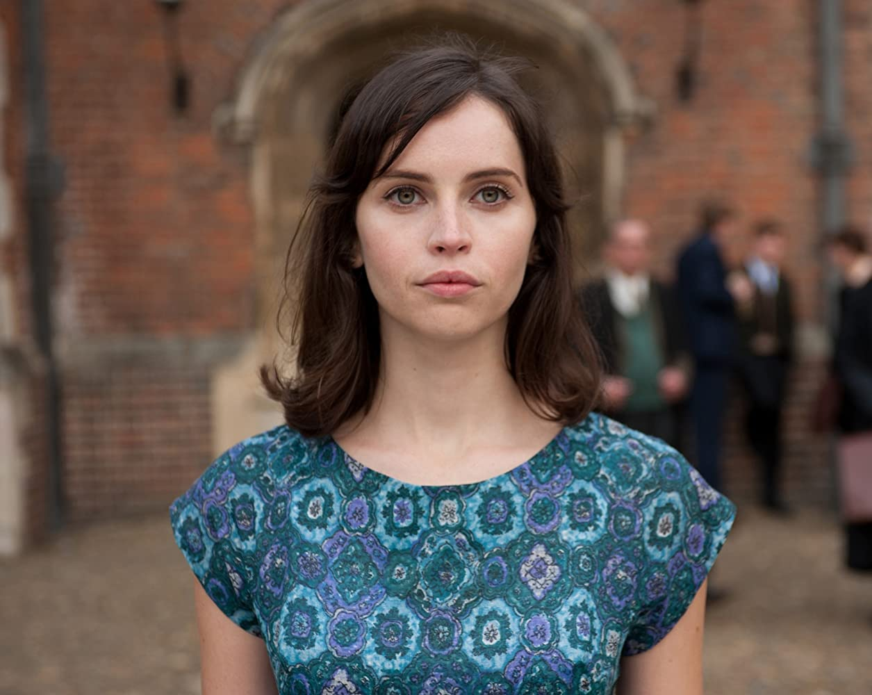 Felicity Jones dalam The Theory of Everything (2014)