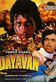 Dayavan 1988 Hindi Movie Sony WebRip 400mb 480p 1.3GB 720p 3GB 1080p