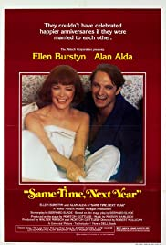Same Time, Next Year (1978) Poster - Movie Forum, Cast, Reviews