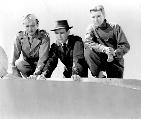 Hume Cronyn, Tom Drake, and Robert Walker in The Beginning or the End (1947)