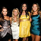 Ashley Tisdale, Jordin Sparks Thomas, Julianne Hough, and Colbie Caillat at an event for 2008 American Music Awards (2008)