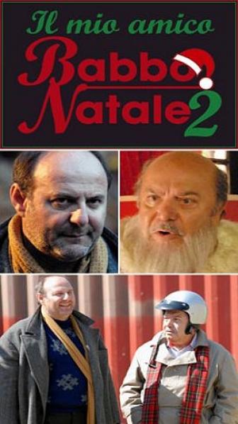 Lino Banfi and Gerry Scotti in Il mio amico Babbo Natale 2 (2006)