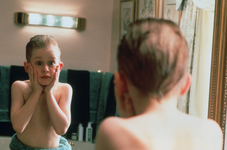 Macaulay Culkin in Home Alone (1990)