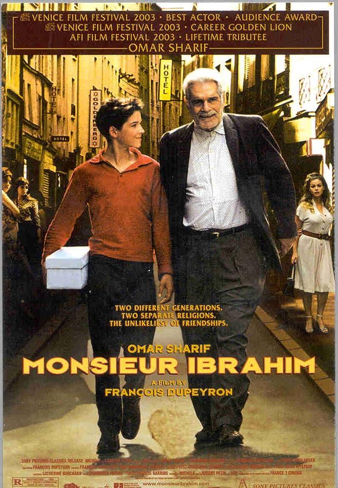 Omar Sharif and Pierre Boulanger in Monsieur Ibrahim et les fleurs du Coran (2003)
