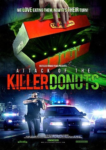 Attack Of The Killer Donuts (2016) Dual Audio Hindi 300MB BluRay 480p x264