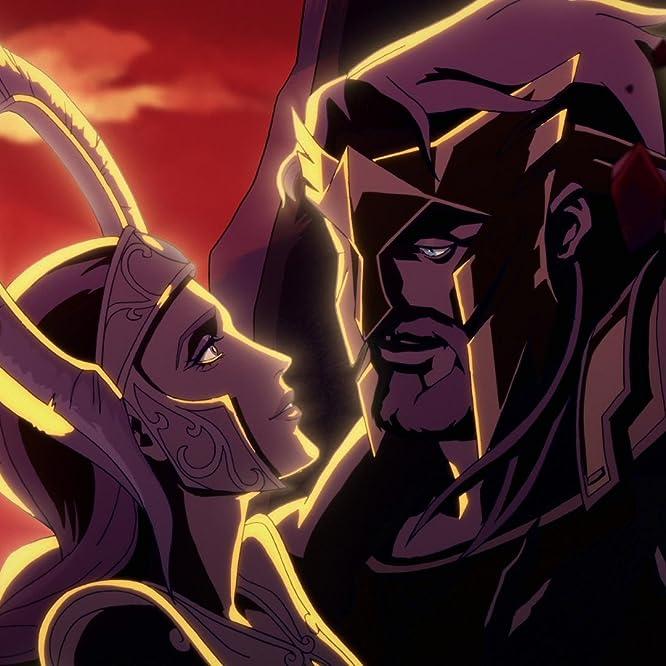 Claudia Christian and Jason O'Mara in Blood of Zeus (2020)