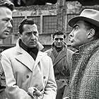 Aldo Giuffrè, Renato Salvatori, Alberto Sordi, and Nino Vingelli in I magliari (1959)
