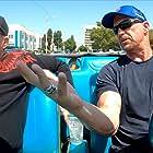 Ice-T and Steve Austin in Straight Up Steve Austin (2019)