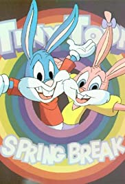 Tiny Toons Spring Break Poster