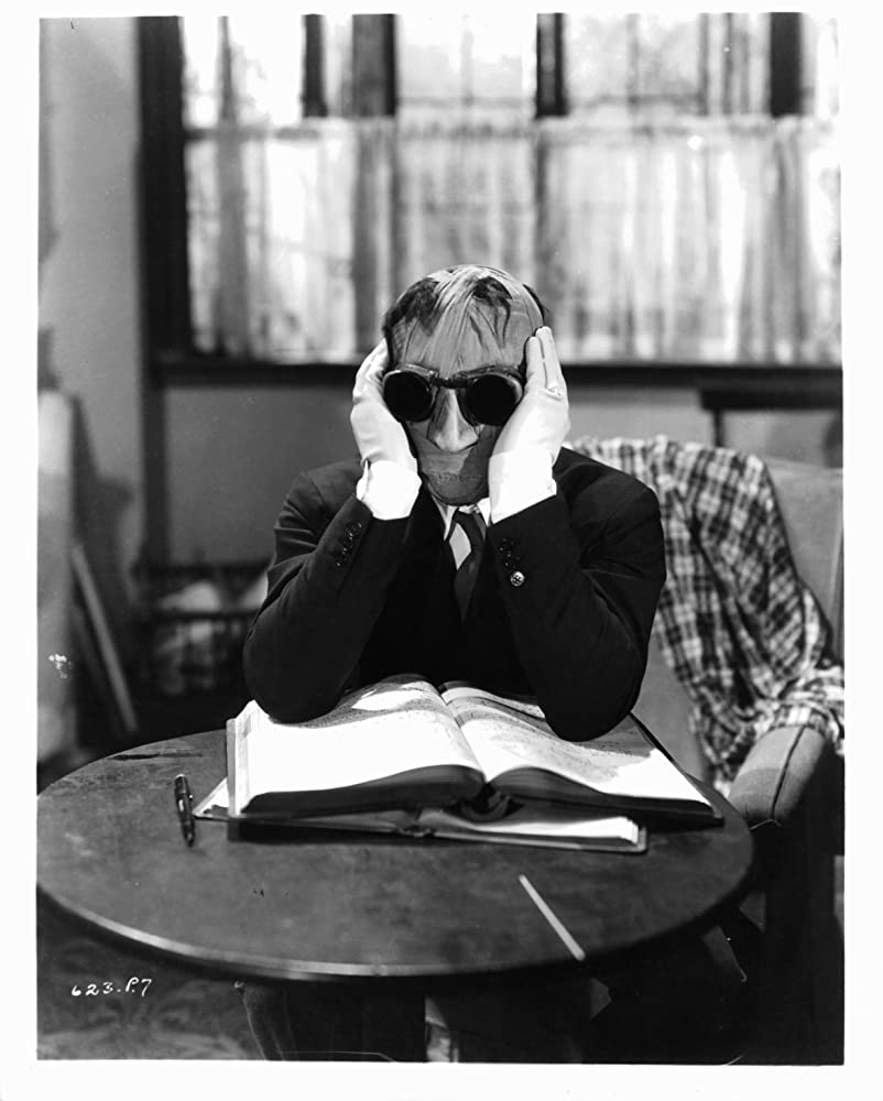 Claude Rains in The Invisible Man (1933)