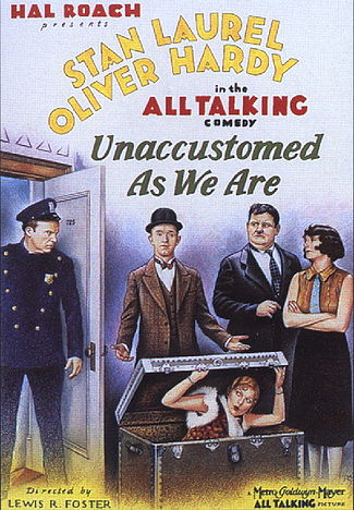 Unaccustomed As We Are (1929) DVDRip