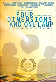 Four Dimensions and One Lamp Poster
