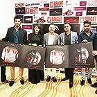 Prakash Prabhakar, Sunil Sanjan, Jayesh Raj, Tanveer Ghazi, and Sonal Singh at an event for Flat 211 (2017)