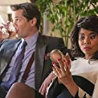 Regina Hall and Andrew Rannells in I Don't Like Mondays (2020)