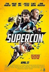 Clancy Brown, John Malkovich, Ryan Kwanten, Russell Peters, Maggie Grace, and Brooks Braselman in Supercon (2018)