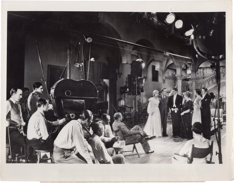 Katharine Alexander, Harry Beaumont, Ralph Forbes, Ann Harding, Frank Morgan, and Reginald Owen in Enchanted April (1935)
