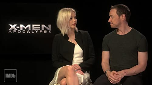James McAvoy and Jennifer Lawrence Recall Magneto in Drag