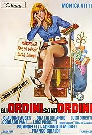 Gli ordini sono ordini Poster