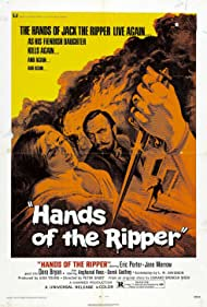 Hands of the Ripper (1972) Poster - Movie Forum, Cast, Reviews