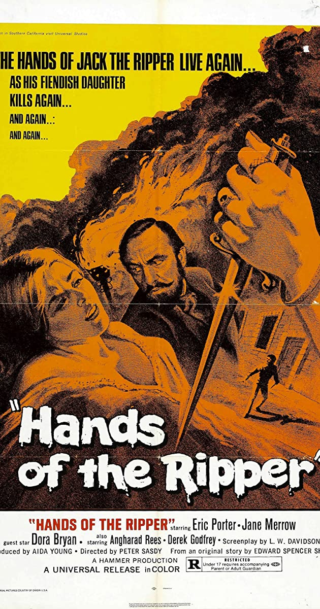 Subtitle of Hands of the Ripper