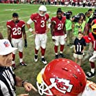 Carson Palmer, Calais Campbell, Patrick Peterson, and Justin Bethel in All or Nothing: A Season with the Arizona Cardinals (2016)