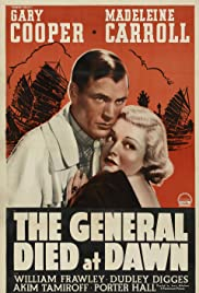 The General Died at Dawn Poster