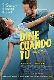Jesús Zavala and Ximena Romo in Dime Cuándo Tú (2020)