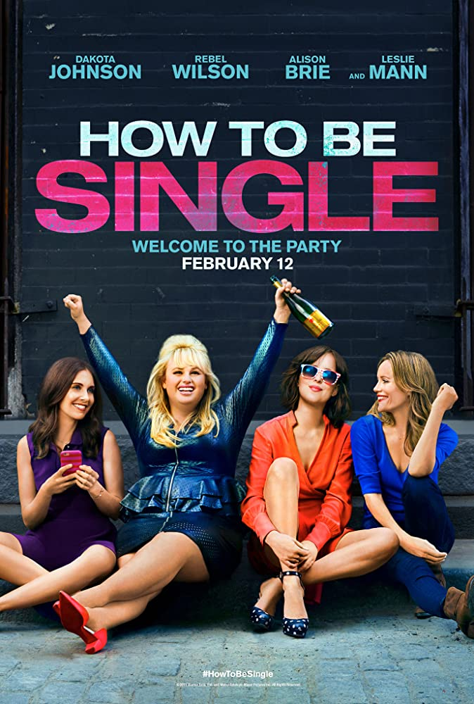 Leslie Mann, Dakota Johnson, Alison Brie, and Rebel Wilson in How to Be Single (2016)
