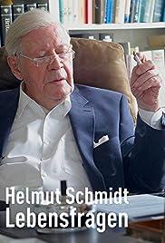 Helmut Schmidt - Lebensfragen Poster