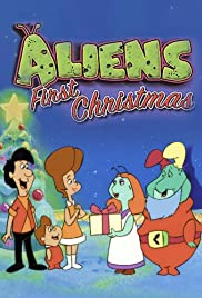Aliens First Christmas Poster