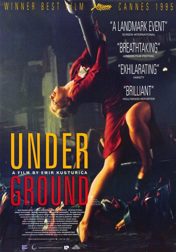 Underground (1995) BluRay 480p, 720p & 1080p