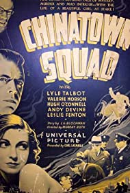 Andy Devine, Leslie Fenton, Valerie Hobson, and Lyle Talbot in Chinatown Squad (1935)