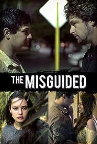 Steven J. Mihaljevich, Jasmine Nibali, Katherine Langford, and Caleb Galati in The Misguided (2018)