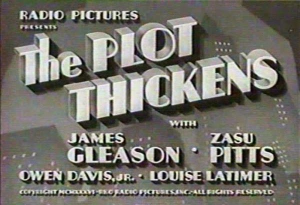 The Plot Thickens (1936)