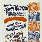 Humphrey Bogart, Gabriel Dell, Leo Gorcey, Huntz Hall, Billy Halop, Weldon Heyburn, Bobby Jordan, Cy Kendall, Gale Page, Bernard Punsly, and The Dead End Kids in Crime School (1938)