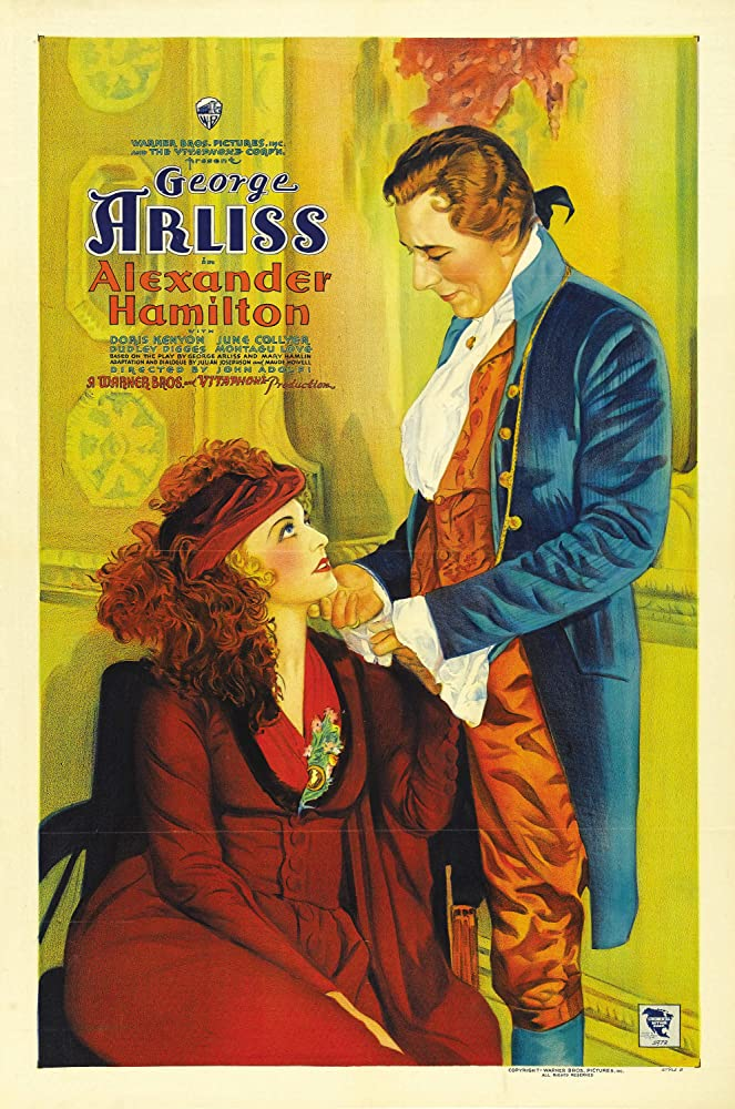 George Arliss and Doris Kenyon in Alexander Hamilton (1931)