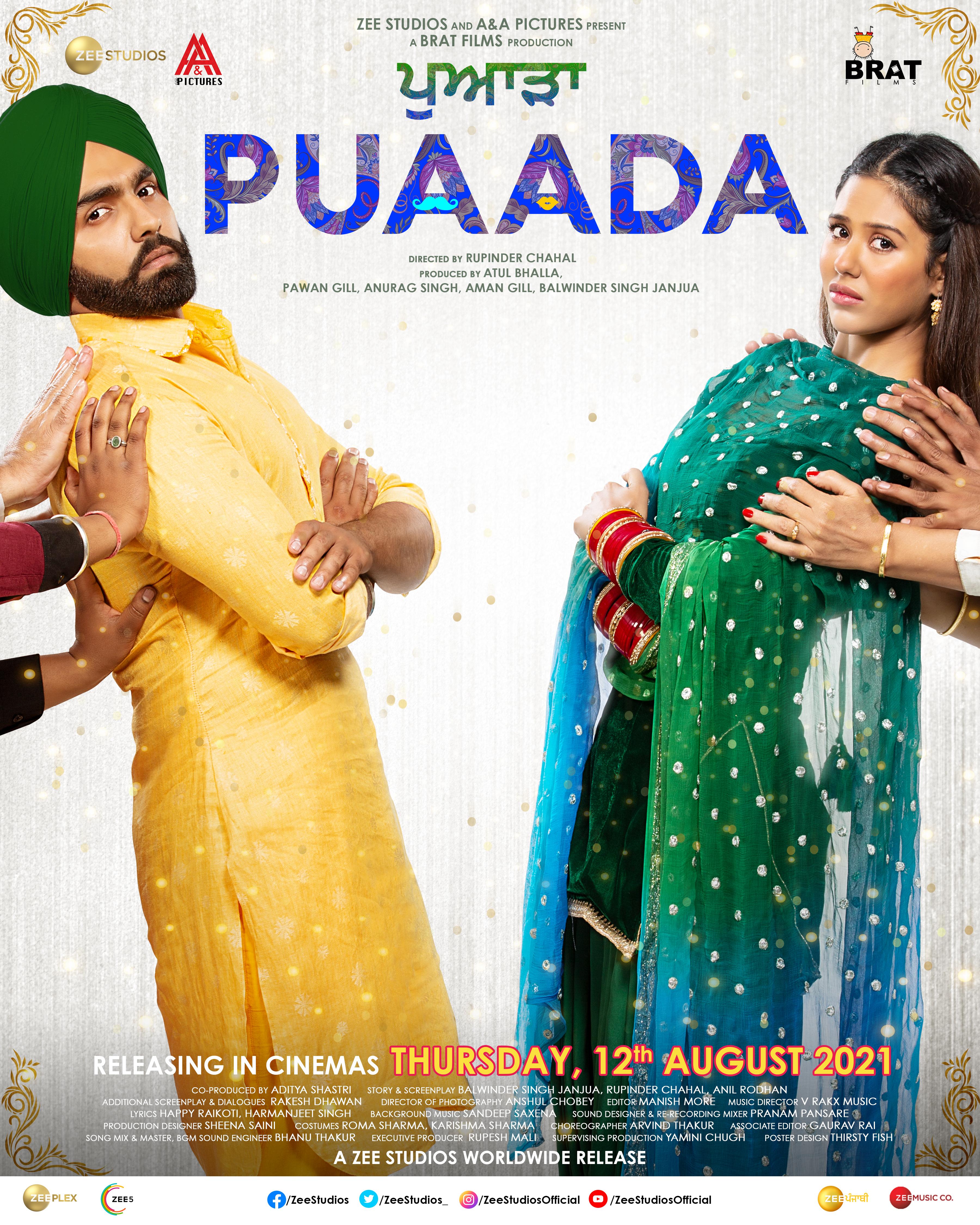 Puaada (2021) Punjabi Full Movie 1080p HDRip ESubs 2.6GB Download